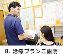 8. 治療プランご説明